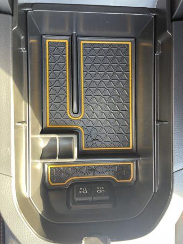【RAV4カスタム】LFOTPPのセンターコンソールBOXトレイは、使い勝手が良く新型RAV4にオススメです!
