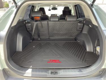 【RAV4北米仕様】USトヨタ純正のラゲージマットはTRD仕様でめちゃくちゃカッコよく、カーゴ素材で掃除も楽々です!